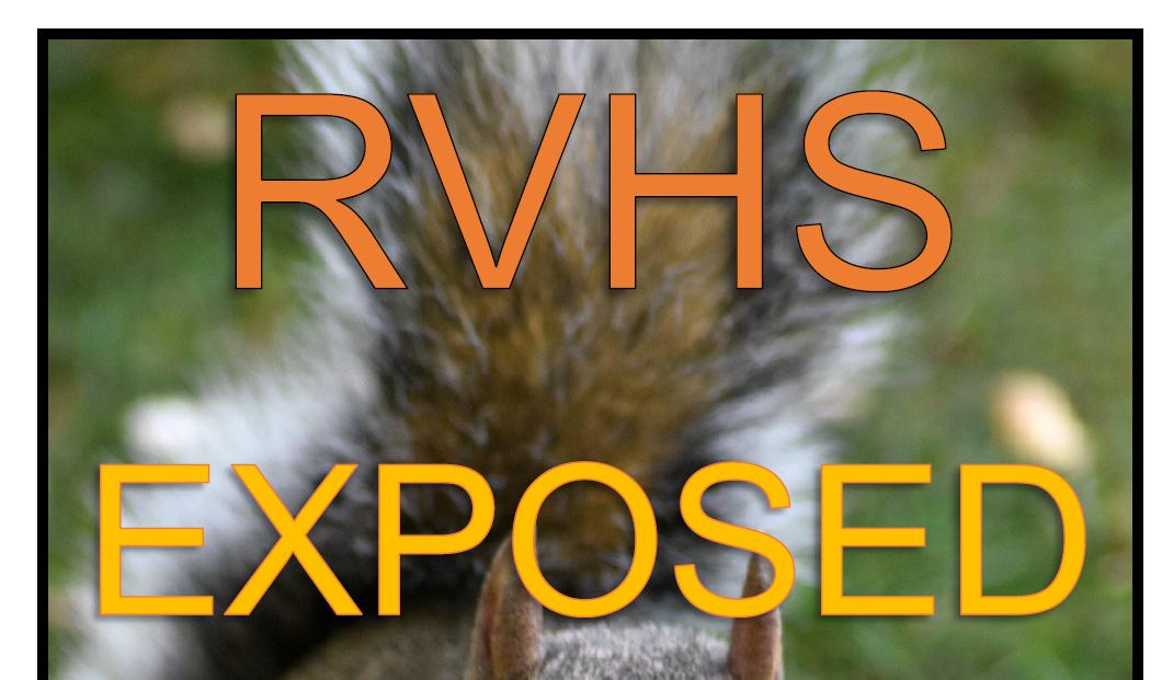 RVHS Exposed – Autumn 2020